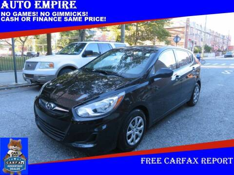 2013 Hyundai Accent for sale at Auto Empire in Brooklyn NY