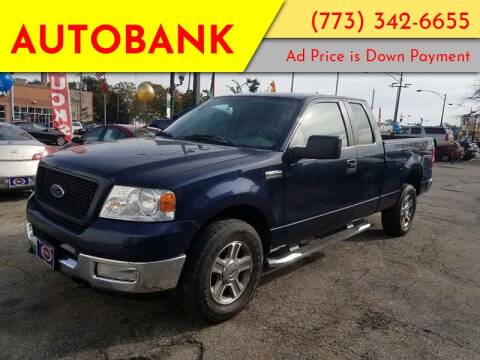 2005 Ford F-150 for sale at AutoBank in Chicago IL