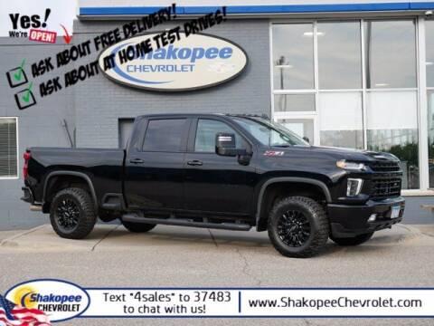 2021 Chevrolet Silverado 2500HD for sale at SHAKOPEE CHEVROLET in Shakopee MN