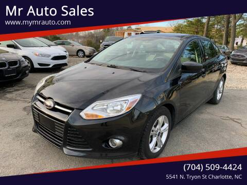 2012 Ford Focus for sale at Mr Auto Sales in Charlotte NC
