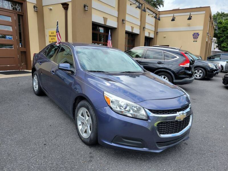 2015 Chevrolet Malibu for sale at ACS Preowned Auto in Lansdowne PA
