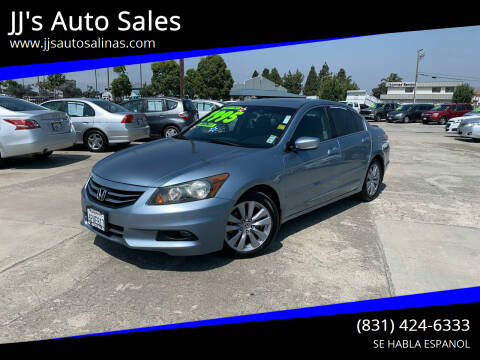 2011 Honda Accord for sale at JJ's Auto Sales in Salinas CA