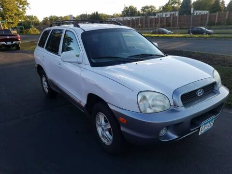 2004 Hyundai Santa Fe for sale at Capital Fleet  & Remarketing  Auto Finance in Columbia Heights MN