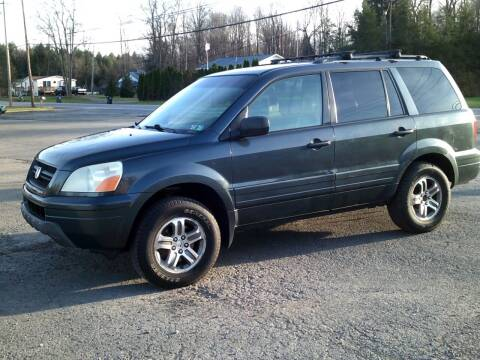 2004 Honda Pilot for sale at On The Road Again Auto Sales in Lake Ariel PA