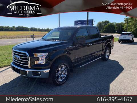 2017 Ford F-150 for sale at Miedema Auto Sales in Allendale MI