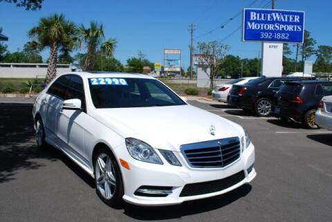 2013 Mercedes-Benz E-Class for sale at BlueWater MotorSports in Wilmington NC