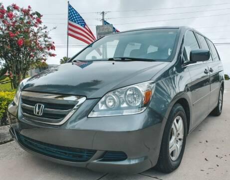 2007 Honda Odyssey for sale at AUTOSPORT MOTORS in Lake Park FL