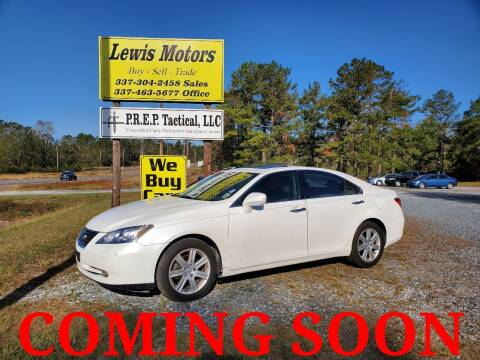 2007 Lexus ES 350 for sale at Lewis Motors LLC in Deridder LA