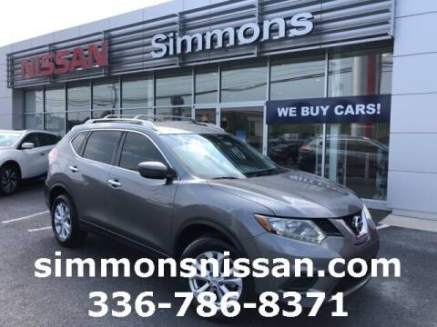 2016 Nissan Rogue for sale at SIMMONS NISSAN INC in Mount Airy NC