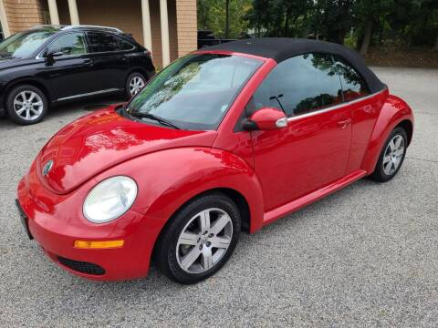 2006 Volkswagen New Beetle Convertible for sale at Car and Truck Exchange, Inc. in Rowley MA