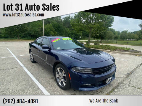2016 Dodge Charger for sale at Lot 31 Auto Sales in Kenosha WI