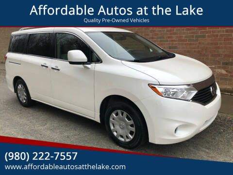 2012 Nissan Quest for sale at Affordable Autos at the Lake in Denver NC