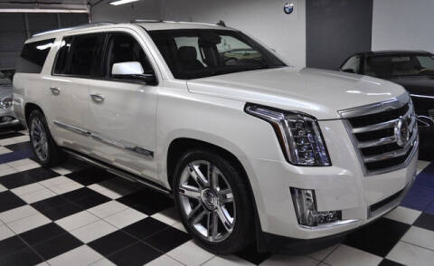 2015 Cadillac Escalade ESV for sale at Podium Auto Sales Inc in Pompano Beach FL