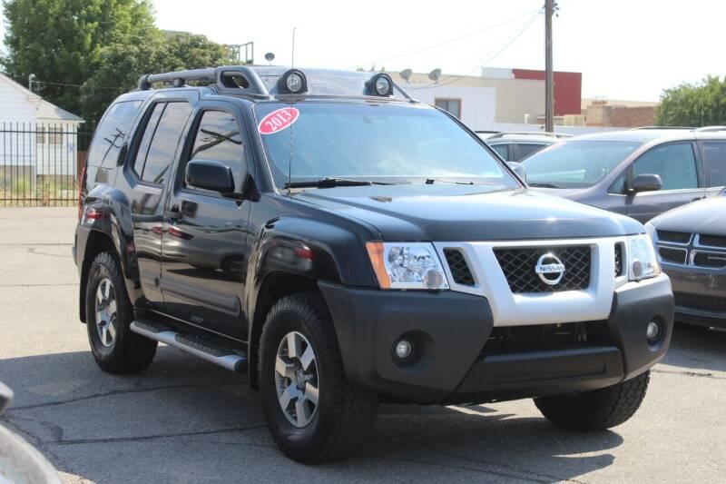 2013 Nissan Xterra for sale at Car Bazaar INC in Salt Lake City UT