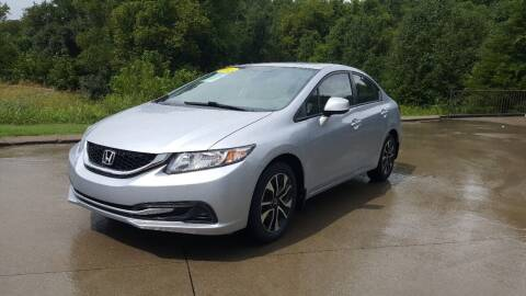 2013 Honda Civic for sale at A & A IMPORTS OF TN in Madison TN