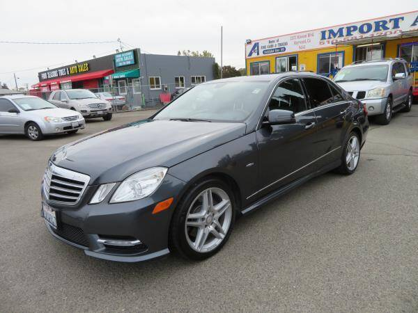 2012 Mercedes-Benz E-Class for sale at Import Auto World in Hayward CA