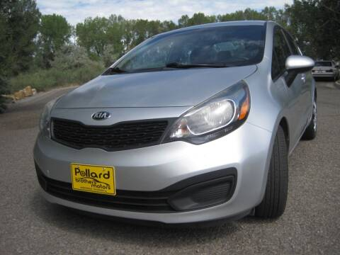 2014 Kia Rio for sale at Pollard Brothers Motors in Montrose CO