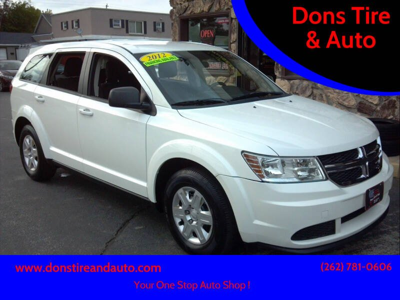 2012 Dodge Journey for sale at Dons Tire & Auto in Butler WI