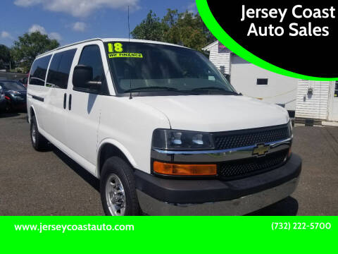 2018 Chevrolet Express Passenger for sale at Jersey Coast Auto Sales in Long Branch NJ