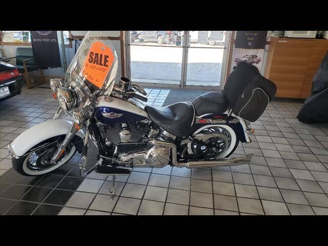 2006 Harley-Davidson FLSTN for sale at Euro-Tech Saab in Wichita KS