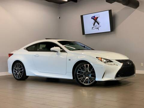 2017 Lexus RC 200t for sale at TX Auto Group in Houston TX
