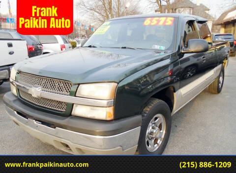 2004 Chevrolet Silverado 1500 for sale at Frank Paikin Auto in Glenside PA