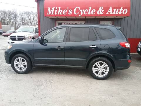 2012 Hyundai Santa Fe for sale at MIKE'S CYCLE & AUTO in Connersville IN