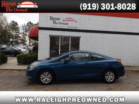2012 Honda Civic for sale at Raleigh Pre-Owned in Raleigh NC