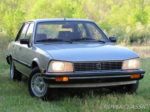 1984 Peugeot 505 for sale at Isuzu Classic in Cream Ridge NJ