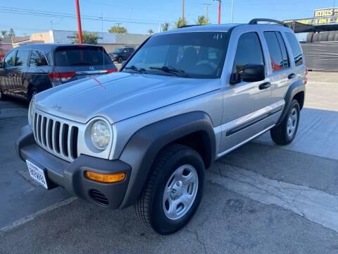 2003 Jeep Liberty for sale at Auto Emporium in Wilmington CA