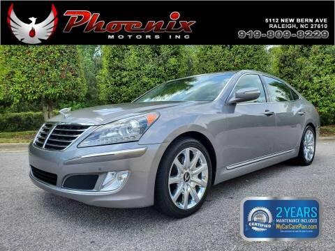 2011 Hyundai Equus for sale at Phoenix Motors Inc in Raleigh NC