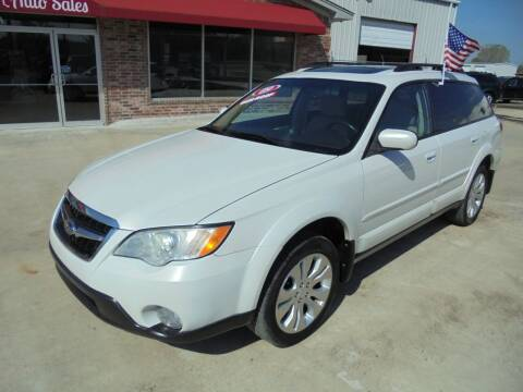 2009 Subaru Outback for sale at US PAWN AND LOAN in Austin AR