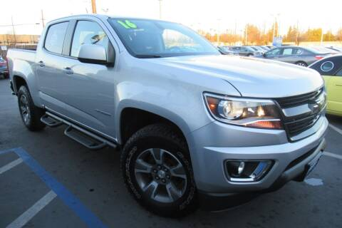 2016 Chevrolet Colorado for sale at Choice Auto & Truck in Sacramento CA
