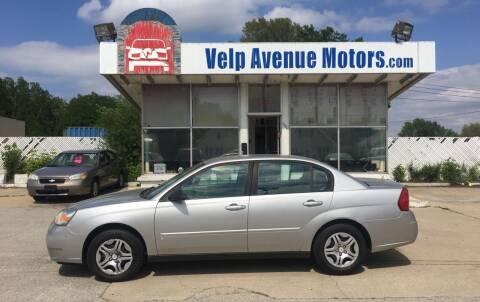 2006 Chevrolet Malibu for sale at Velp Avenue Motors LLC in Green Bay WI