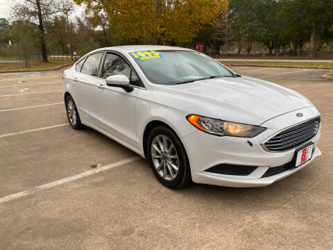 2017 Ford Fusion for sale at B & M Car Co in Conroe TX