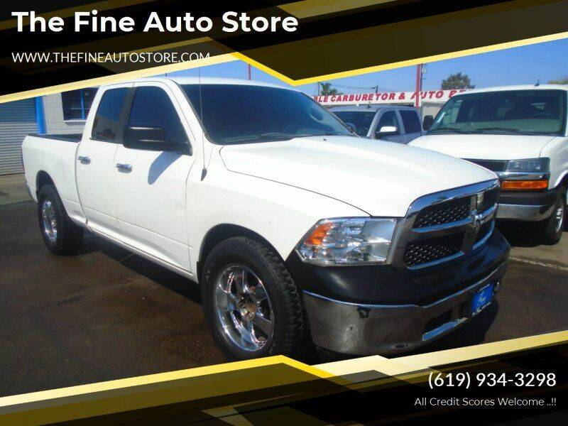 2015 RAM Ram Pickup 1500 for sale at The Fine Auto Store in Imperial Beach CA