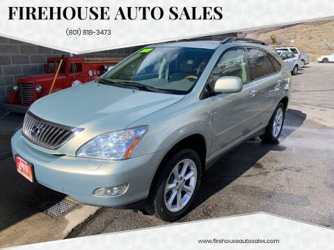 2009 Lexus RX 350 for sale at Firehouse Auto Sales in Springville UT