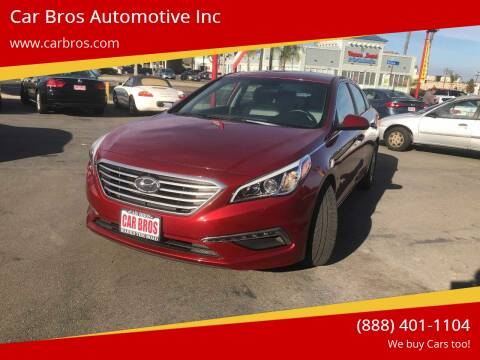 2015 Hyundai Sonata for sale at Car Bros Automotive Inc in Lomita CA