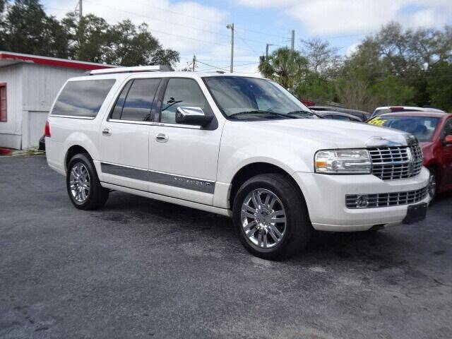 2010 Lincoln Navigator L for sale at DONNY MILLS AUTO SALES in Largo FL