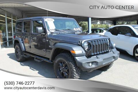 2020 Jeep Wrangler Unlimited for sale at City Auto Center in Davis CA