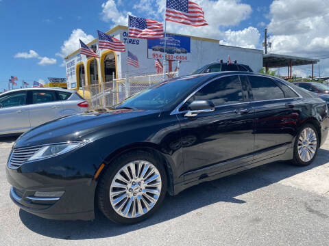 2014 Lincoln MKZ for sale at INTERNATIONAL AUTO BROKERS INC in Hollywood FL
