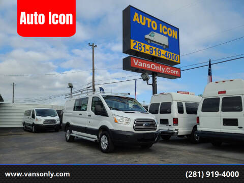 2015 Ford Transit Cargo for sale at Auto Icon in Houston TX