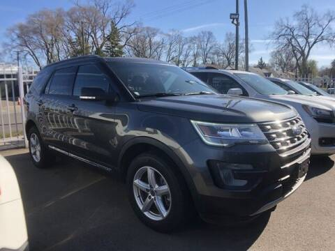 2017 Ford Explorer for sale at SOUTHFIELD QUALITY CARS in Detroit MI