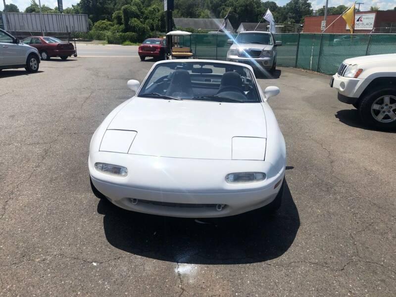 1990 Mazda MX-5 Miata for sale at LINDER'S AUTO SALES in Gastonia NC