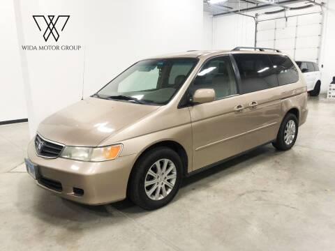 2002 Honda Odyssey for sale at Wida Motor Group in Bolingbrook IL