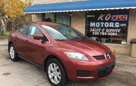 2007 Mazda CX-7 for sale at K O Motors in Akron OH