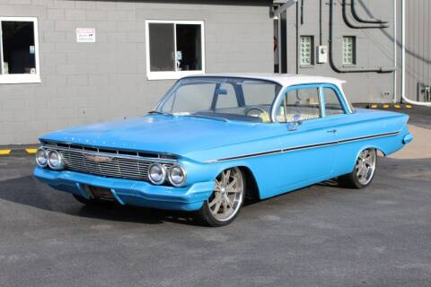 1961 Chevrolet Bel Air for sale at Great Lakes Classic Cars & Detail Shop in Hilton NY