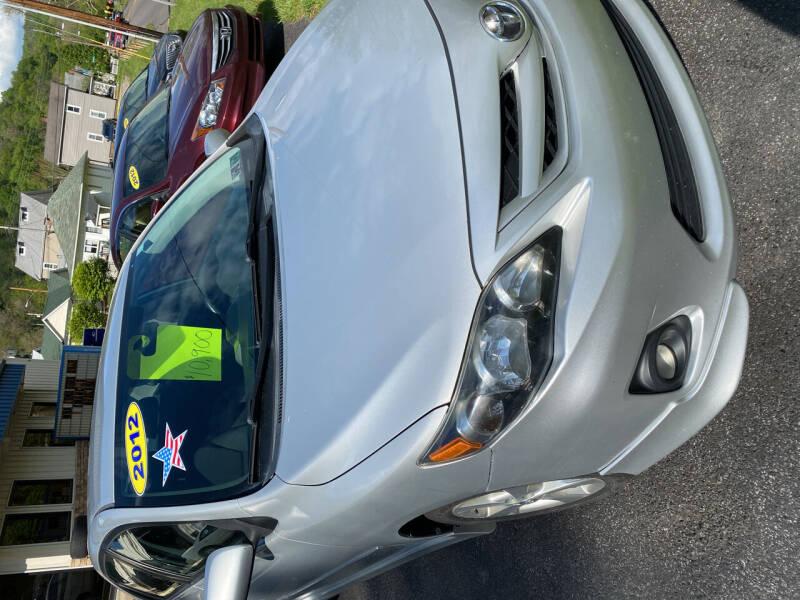 2012 Toyota Corolla for sale at WHARTON'S AUTO SVC & USED CARS in Wheeling WV