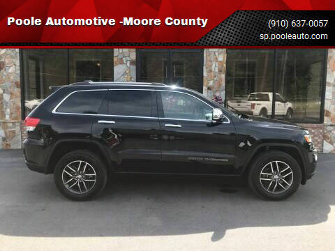 2018 Jeep Grand Cherokee for sale at Poole Automotive in Laurinburg NC