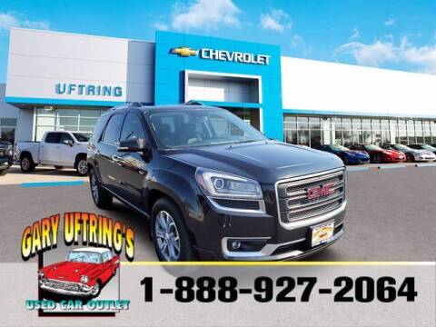 2015 GMC Acadia for sale at Gary Uftring's Used Car Outlet in Washington IL